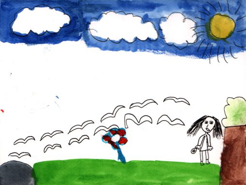 Nicole har illustrerat Amelies minne